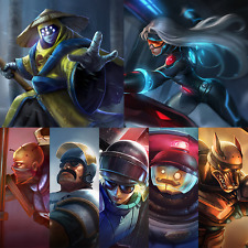League of Legends Account: Pax Jax & Sivir | All Riot Skins | +More!