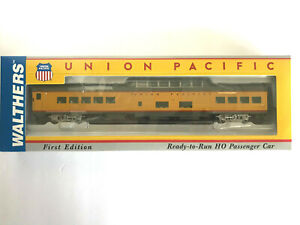 HO WALTHERS 932-9580 UNION PACIFIC CITIES SERIES ACF DOME-COACH 7000-7009