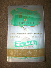 Central States Mission Mia Convention 1940 Lds Mormon Book Silver Jubilee