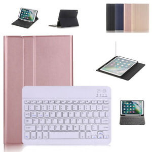 "Bluetooth Keyboard Stand PU Case For Samsung Galaxy Tab S6 10.5"" T860 A 8"" T290"