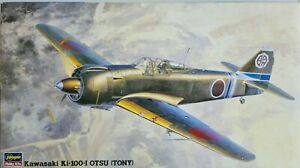 "Hasegawa 1/48 Kawasaki Ki-100-I Otsu ""Tony""  Model Kit"
