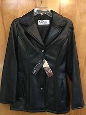 Ca Progetto Moda Collezioni leather jacket Female ladies womens SMALL USA 38