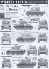 Bison Decals 1/35 U.S. TANKS IN KOREA #3 M4A3E8 Sherman HVSS Tank