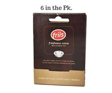 Friis Valve Replacement Kit Contains 6 Valves  For Friis Coffee Vault