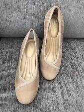 Ladies HOTTER Monica Beige Lizard Leather Court Shoes uk 3 eur 36 us 5 NEW