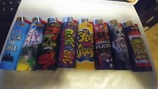 (8) Special Edition Full Size Bic Lighters