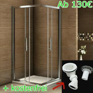 Nano+ESG Glas Eckeinstieg Schiebetür Duschtasse Duschabtrennung Duschtür Dusche