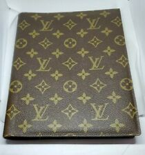 Vint 1982 RARE Authentic Louis Vuitton Monogram Agenda Phonebook Cover w/inserts