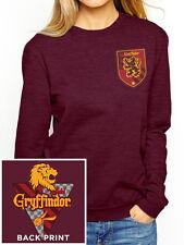 Harry Potter Fitted Crewneck Sweatshirt Jumper House Gryffindor M