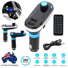 Wireless Bluetooth Car Kit FM Transmitter Radio MP3 Music Player LCD USB Charge