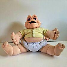Vintage 1991 Hasbro Talking Baby Sinclair Pull String Toy Disney Plush Dinosaurs