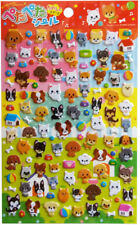 "Sticker ""Hunde und Katzen"" Japan China Asien Ball Knochen Dogge Pudel  Napf süß"