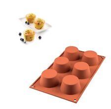 Stampo 6 muffin silicone Silikomart SF 023 dolci torta multiporzione 69 mm Rotex