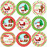 144 Jolly Christmas 30mm Children's Reward Santa Stickers for Parents, Teachers