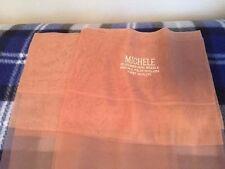 Two pair vintage Michele Nude Garter stockings 10 1/2 mesh