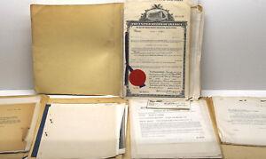 1944 - 1949 Original Patent Plumley Applications Automotive Auto Battery Post NY