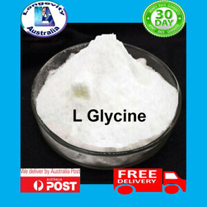 GLYCINE - PURE POWDER -  25 50 100 200 GRAMS
