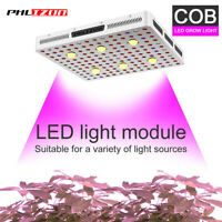 Dimmable 3000W LED Grow Lights COB &10W Daylight Full Spectrum UV IR Hydro Lamp