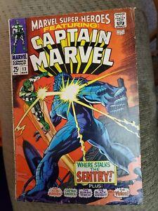 *Marvel Super Heroes 13 1st Carol Danvers VG Captain Marvel