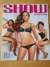 SHOW Black Lingerie THE ART OF SEXY bikini magazine #5 NICOLE SOCA MIRTHA