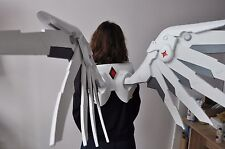 Mercy's Wings from Overwatch. 1:1 fullscaled with straps. Сosplay.