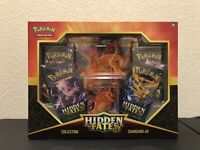 Pokemon Hidden Fates GX Collection Box Charizard New Sealed