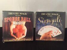 Theatre Magic Presents Sponge Ball Magic And Svengali Deck NEW