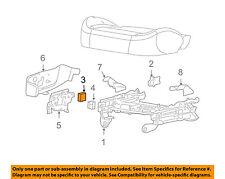 GM OEM Seat Track-Seat Switch Left 19121889
