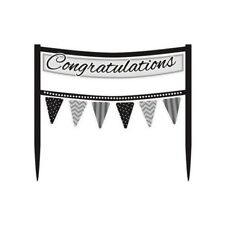 Congratulations Cake Banner Topper Decoration - Suitable for all Occasions - New