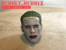 IN STOCK 1/6 Joker Head Sculpt Jared Leto Suicide Squad Batman For Hot Toys USA