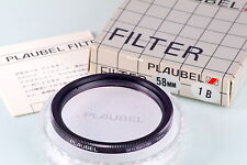 FILTRO PLAUBEL FILTER 58mm NEW IN BOX OLD STOCK 1B SKY ROSE FOR MAKINA 67 670