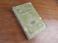 SCARAMELLI & Abbé RUDEAU / METHODE DE DIRECTION SPIRITUELLE Hivert 1854