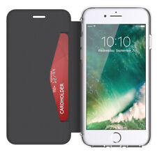 GRIFFIN REVEAL WALLET PROTECTIVE CASE COVER FOR IPHONE 7 /6S/6 - BLACK/CLEAR