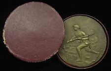"1919 World War 1 The French Campaign Bronze Medal 2 1/2"" Marcel Lordonnois"