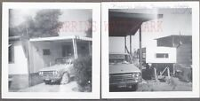 Vintage Photos 1970 Datsun Pickup Truck  Mobile Home Yucca Valley 700130