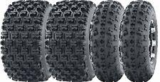 Set of 4 WANDA Sport ATV Tires AT 23x7-10 Front & 22x10-10 Rear /6PR- GNCC Race