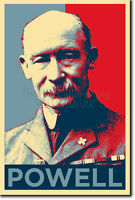 LORD ROBERT BADEN POWELL ART PHOTO PRINT (OBAMA HOPE) POSTER GIFT BOY SCOUTS