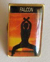 Falcon Exercise Pin Badge Rare Vintage Souvenir (G3)