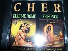 Cher Take Me Home / Prisoner Rare West German 2 Albums On 1 Casablanca CD