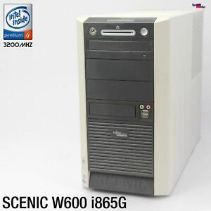 PC Computer Work Station Fujitsu SIEMENS SCENIC W600 D1567 RS-232 Parallel Lpt