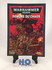 Codex : Démons du Chaos - Warhammer 40.000 / 40K - Games Workshop - TBE