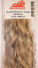 Gris zorro/Gray Fox zonker 3 x 17 cm/6 mm naturaleza