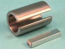 "1-1/8"" X 1-3/8"" X 1-1/4""Shaft Adapter Pulley Bore Reducer Bushing  & Key"