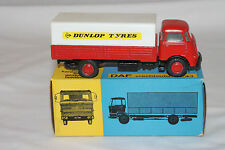 1960's Lion Car #43 DAF Covered Delivery Truck, Dunlop Tyres, Superb, Boxed