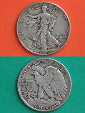 MAKE OFFER $1.00 Face Value 90% Silver Walking Liberty Half Dollars Junk Coins