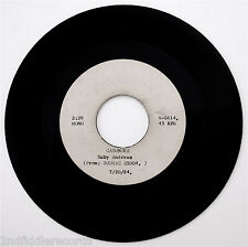 RUBY ANDREWS-Casonova-LINDA JONES-Hypnotized-Mega Rare Metal 2 Sided Acetate 45