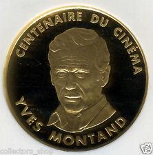 FRANCE: Gold 100 Francs *YVES MONTAND 1994 * CENTENNIAL CINEMA* NGC PF69 KM#1105