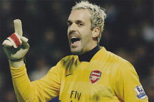 Manuel Almunia 12x8 unsigned photo Arsenal