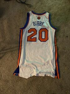 Mike Bibby Game Used  New York Knicks Jersey