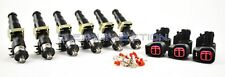 Bosch ev14 850cc fuel injectors Toyota Supra 2JZGTE engine motor E85 2jz turbo
